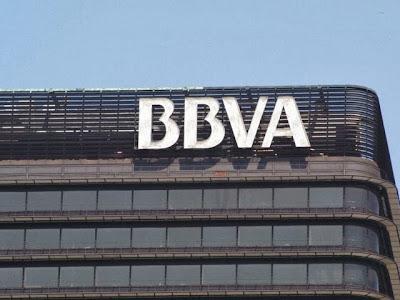 Cuenta corriente bancaria y banco BBVA