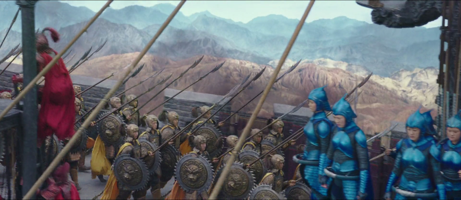 The Great Wall 2016 1080p Bacterias