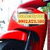 Sơn xe Honda Sh màu đỏ nhám Lamborghini