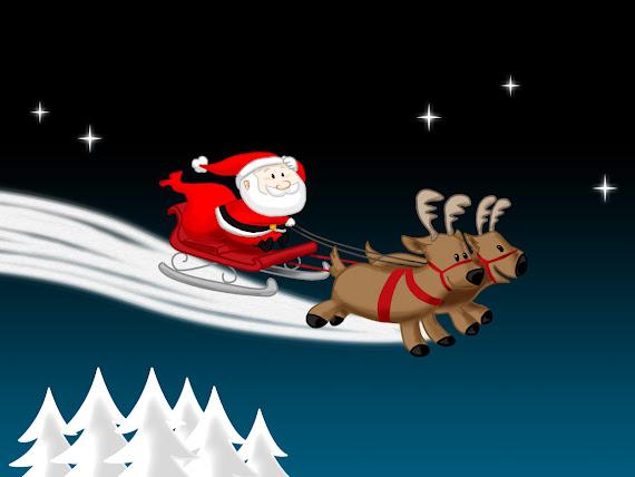 download besplatne pozadine za desktop 1152x864 slike ecard čestitke blagdani Božić Djed Mraz Božićnjak