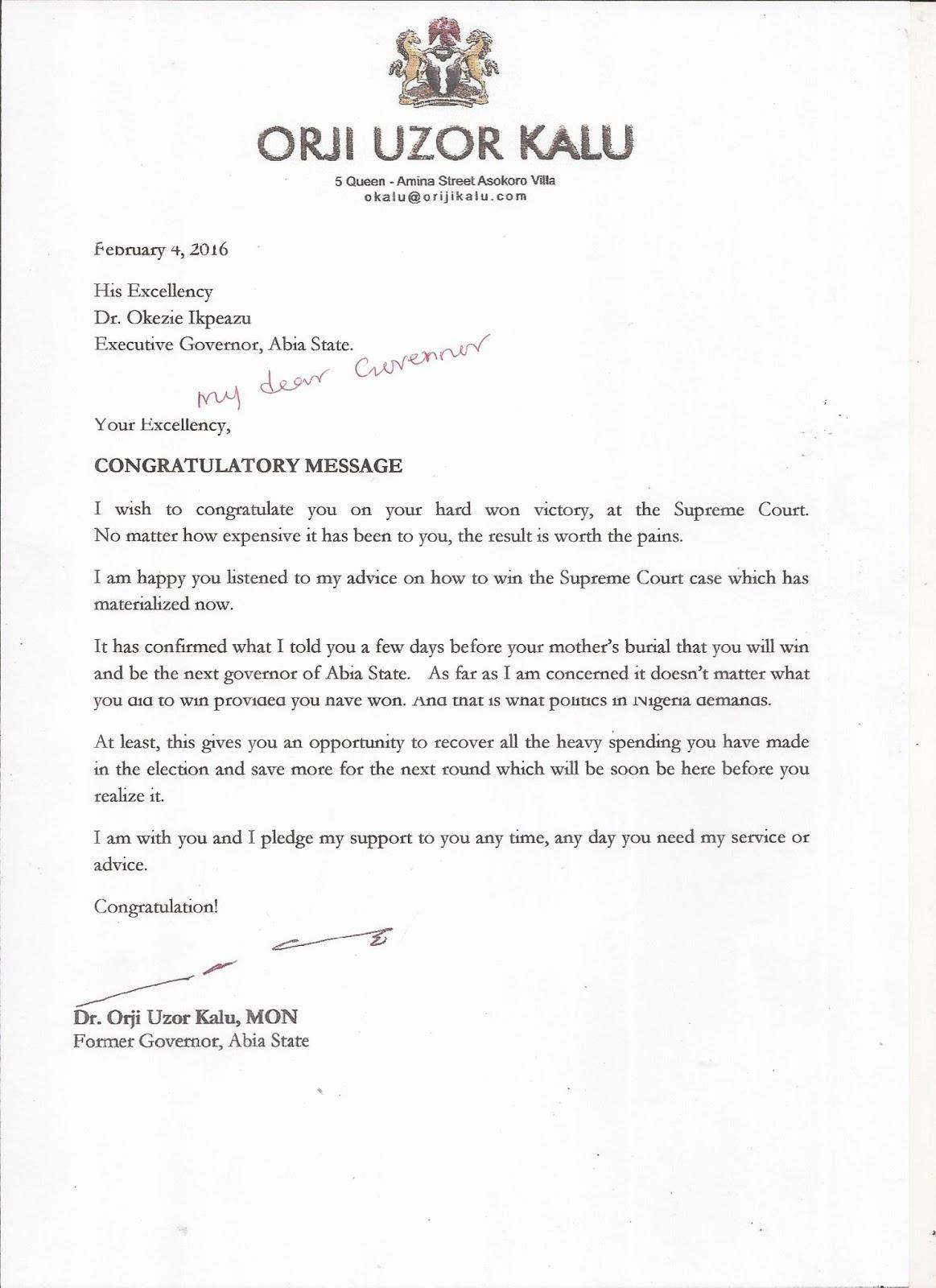 Stella dimoko korkus orji uzor kalus letter to governor orji uzor kalus letter to governor ikpeazu leaks altavistaventures Choice Image