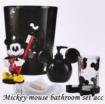Mickey mouse bathroom set and Accessories