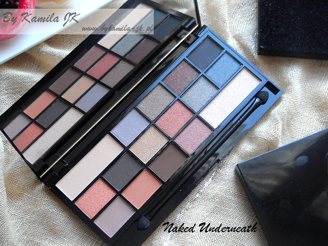 Makeup Revolution paleta cieni z sercem Naked Underneath