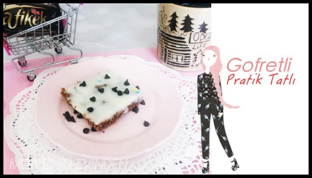 Gofretli pratik tatlı| Afia Gofret