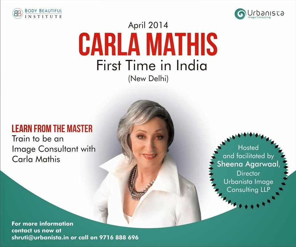 Carla Mathis in India for the First time - Personal Branding - Fit
