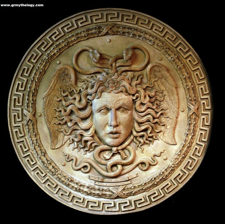 medusa 39 s head learn about greek mythology greek gods. Black Bedroom Furniture Sets. Home Design Ideas