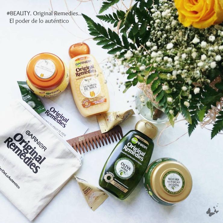 06/07/2017 #BEAUTY. El poder de lo auténtico... Original Remedies review