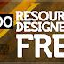 2500 recursos para diseñadores gratis