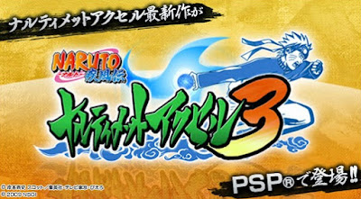 download Naruto Shippuden Narutimate Accel 3 CSO HighCompress For PPSSPP (Unlock Karakter)