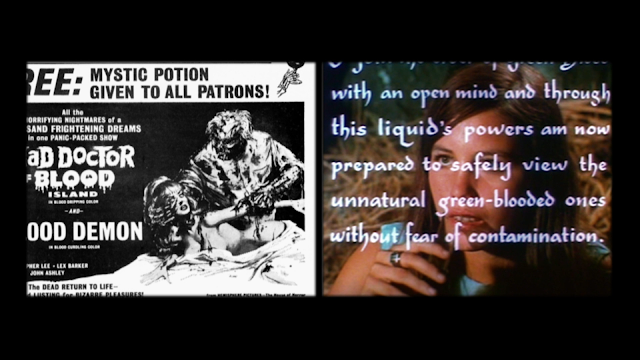 the instructions on how to take the green blood oath from The Mad Doctor of Blood Island