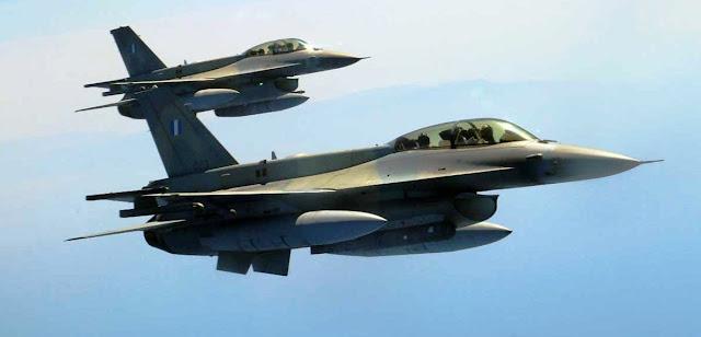 Βόλτα με F-16 κάνει ο Τσίπρας με τον Αρχηγό ΓΕΑ και τον Αρχηγό ΓΕΕΘΑ