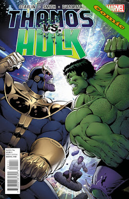 Thanos Vs Hulk - Comic