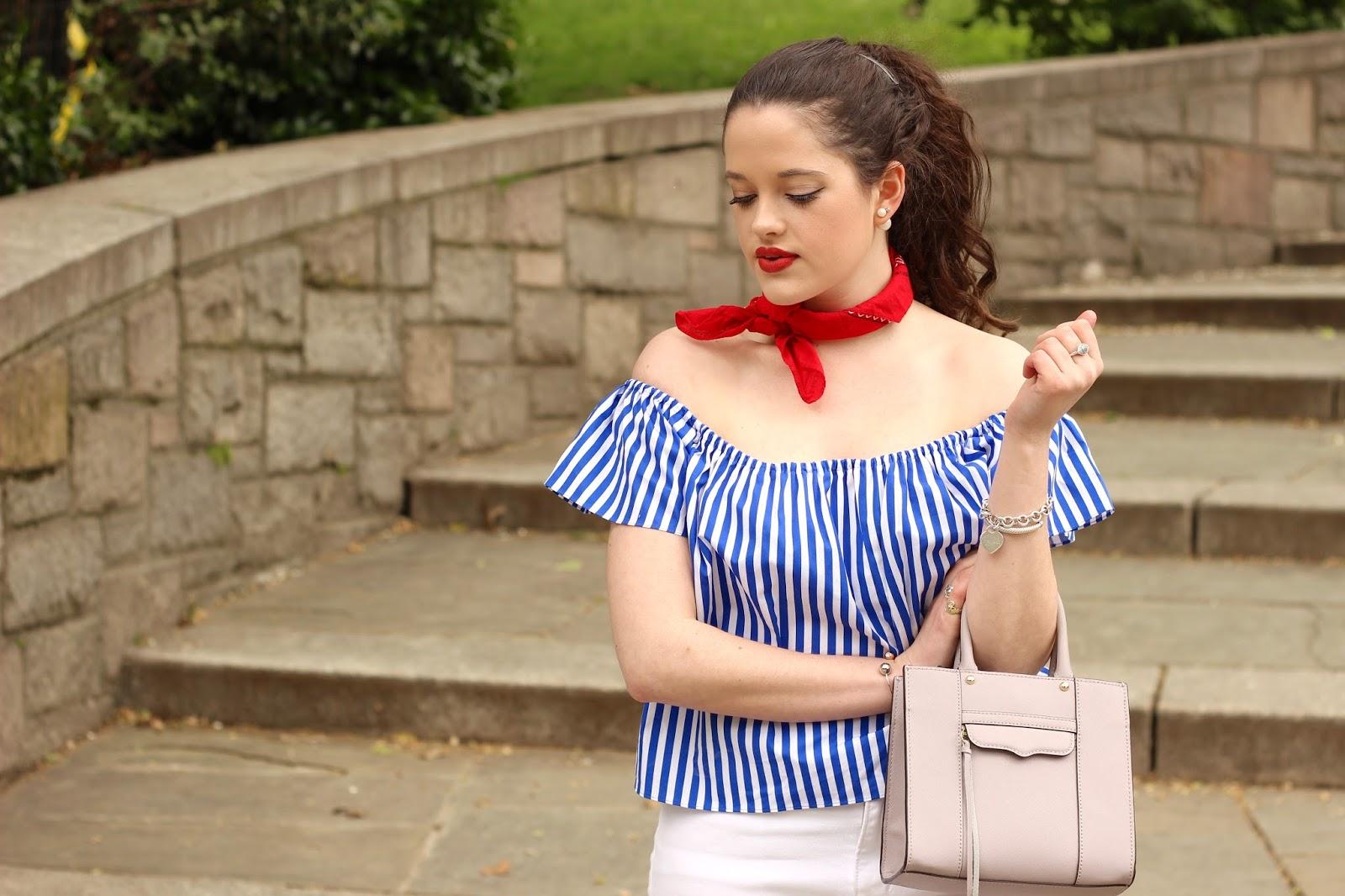 off the shoulder trend fashion blogger