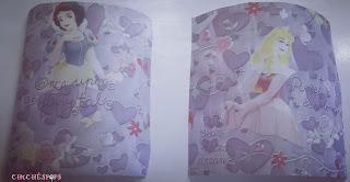Papel Princesas Blanca Nieves y Bella Durmiente 10x10