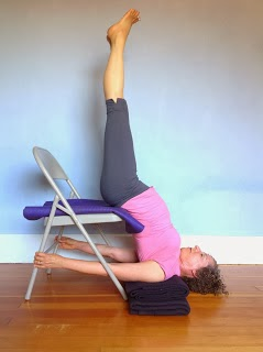 yoga for healthy aging all about supported inversions