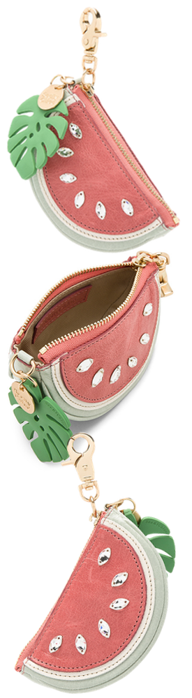 SEE BY CHLOE COIN PURSE IN WATERMELON