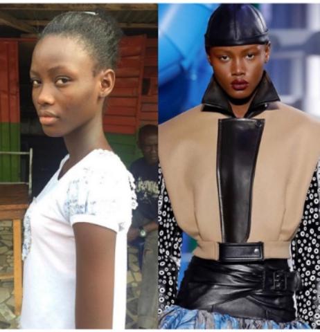 Meet First Nigerian to walk on Louis Vuitton runway