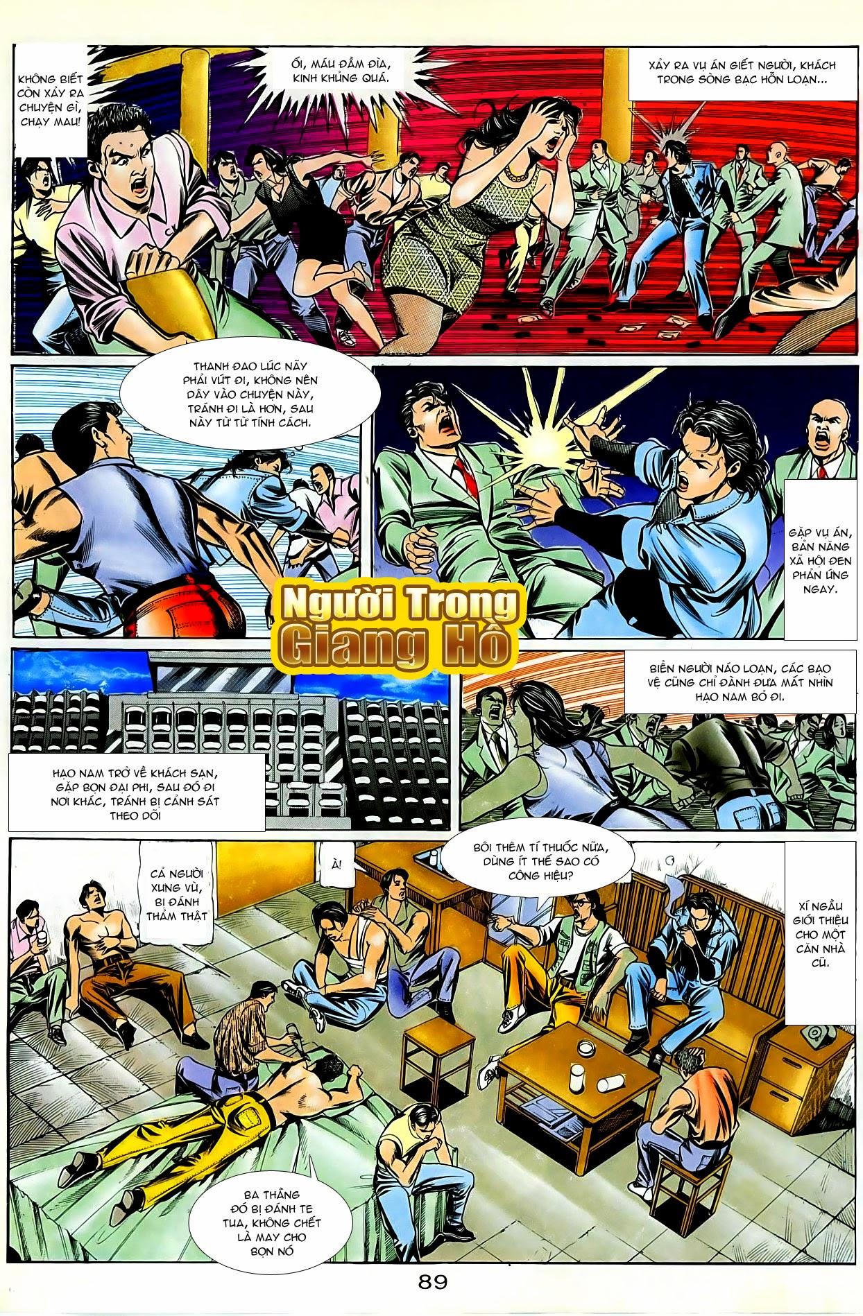Người Trong Giang Hồ chapter 87: chống lưng của a khôn trang 3