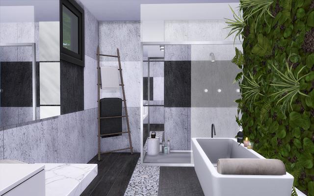salle de bain design sims 4