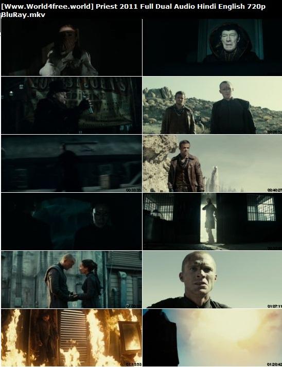 Screen Shoot of Priest 2011 Full Dual Audio Hindi English 720p BluRay