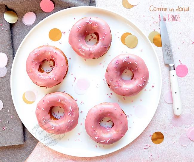 gateau en dorme de donuts