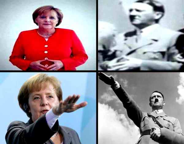 Angela Merkel Tochter Von Hitler