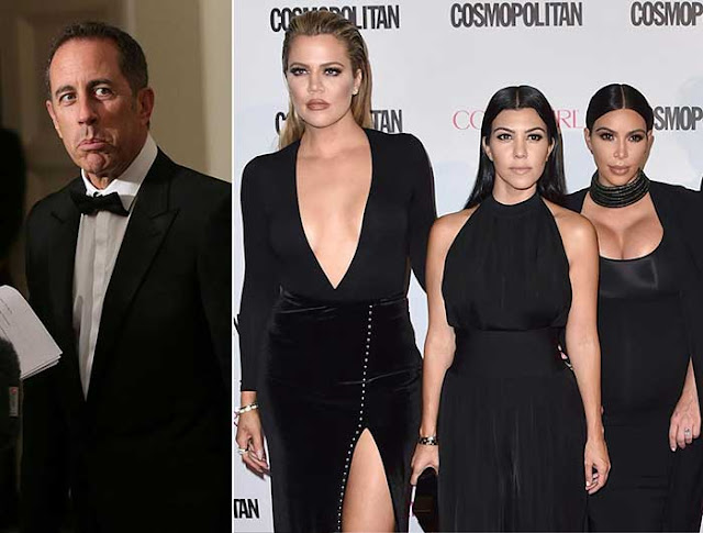 Jerry Seinfeld blasts the Kardashians: 'These people are not doing anything interesting'