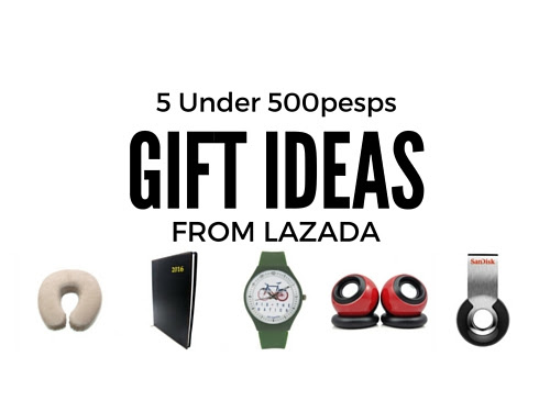 5 Under 500pesos Gift Ideas from Lazada