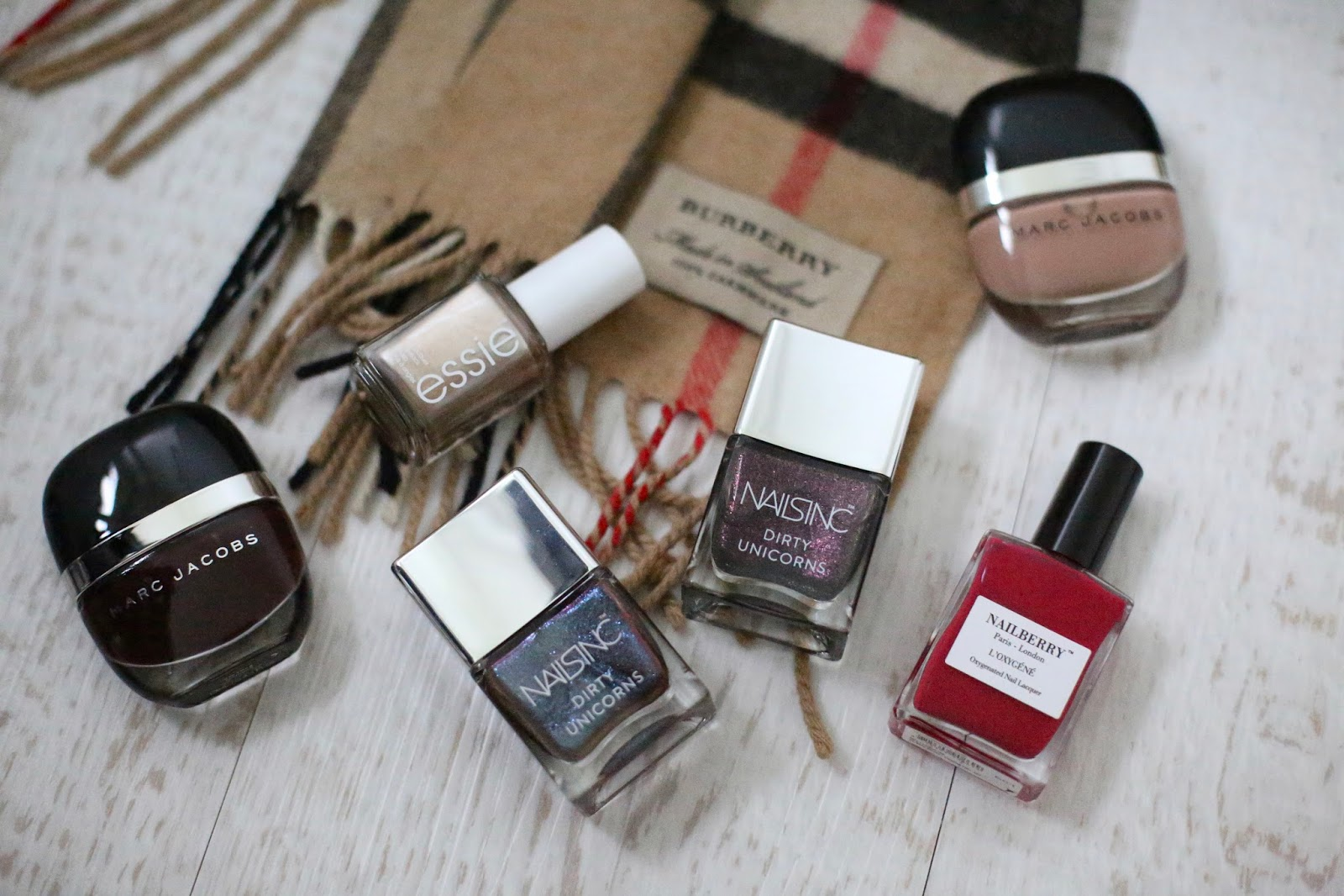 autumn and fall nail polishes