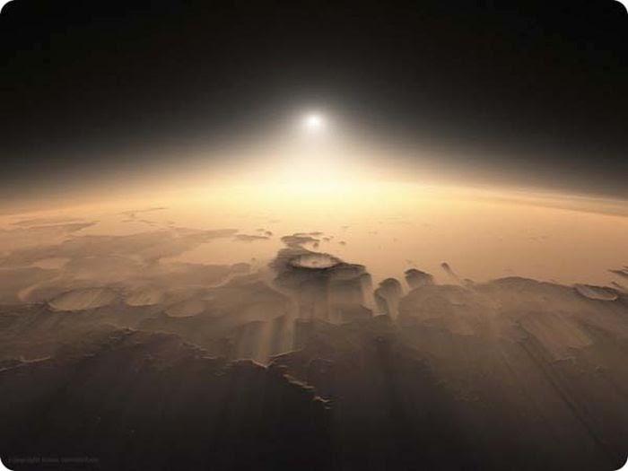 Sunrise on mars damn cool pictures - Mars sunset wallpaper ...