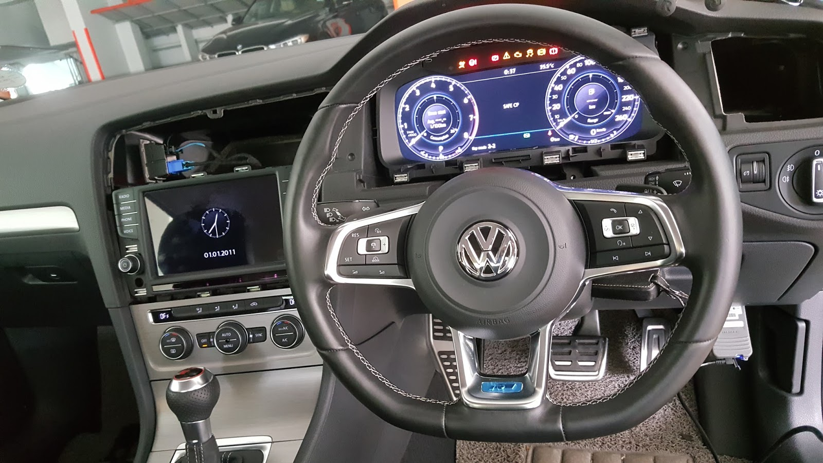 golf mk 7 to mk 7 5 instrument cluster. Black Bedroom Furniture Sets. Home Design Ideas