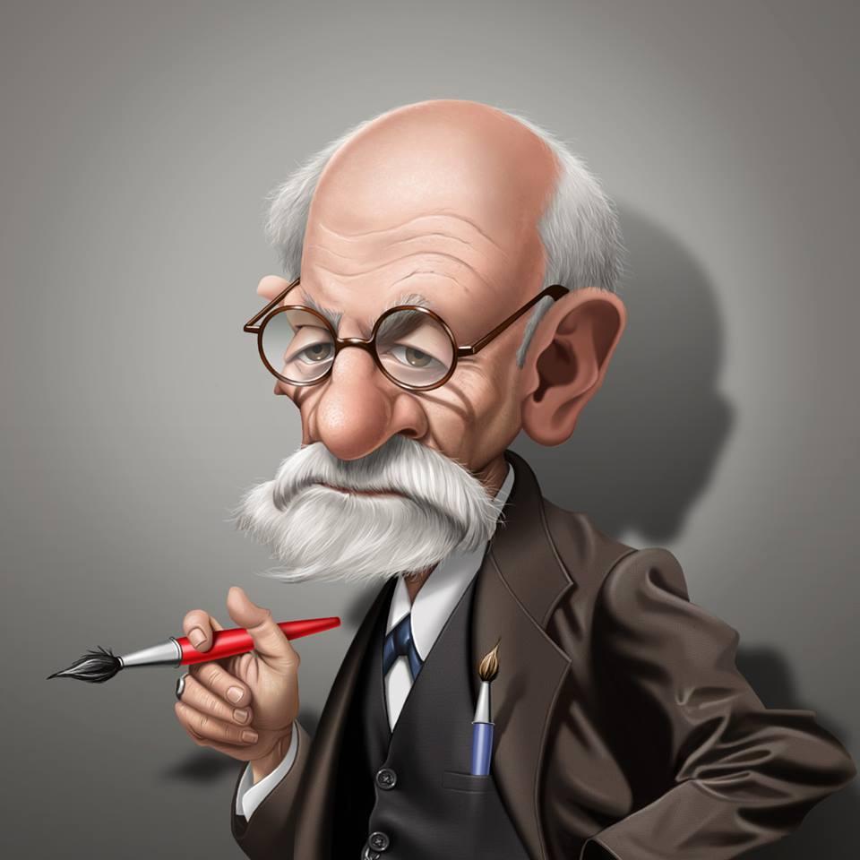 Sigmund Freud por Fernando Buigues