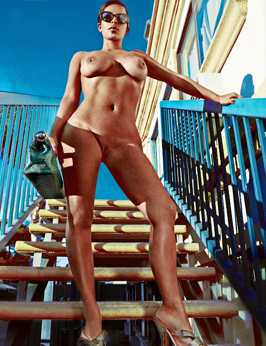 New Kim Kardashian Completely Photos With Full-Frontal For Love Magazine - Daily Photo Likes