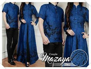 model baju batik untuk pesta pernikahan lengan pendek