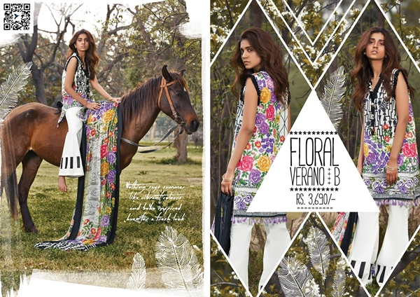 Sapphire Lawn 2017 Volume 2 Summer Collection With Price