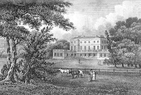 Frogmore House  from Memoirs of Her Late Majesty Queen Charlotte  by WC Oulton (1819)