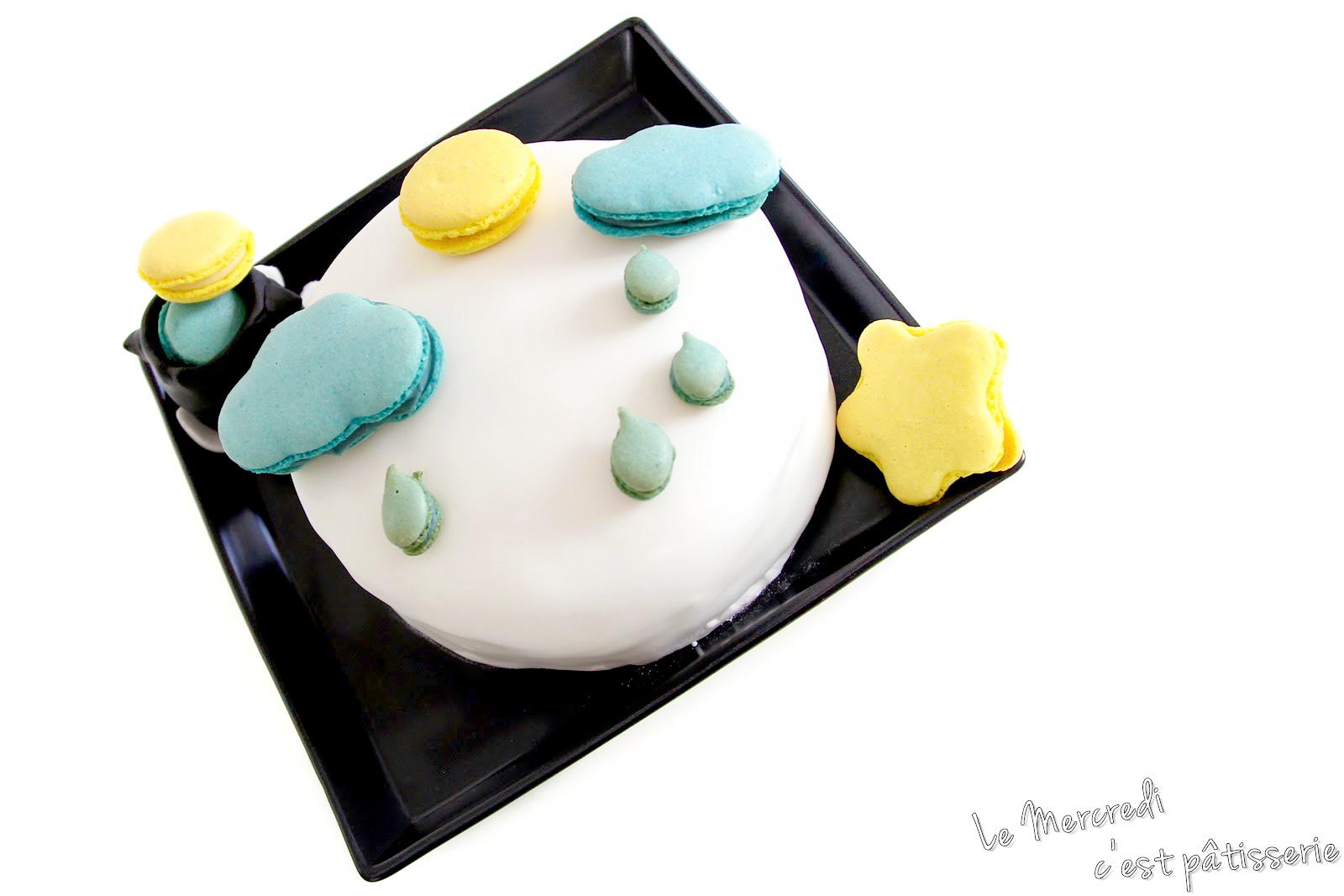 Rainbow Cake Gouteux