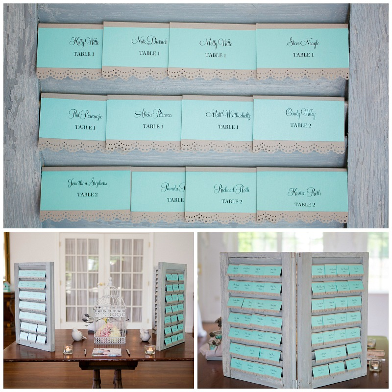 DIY Wedding Seating Cards. Easy to make place cards | Meet the B's