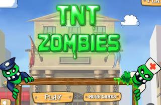 TNT Zombies Puzzle Games