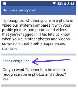Cara Mematikan Fitur Face Recognition di Facebook (Fitur pengenalan wajah di Facebook)