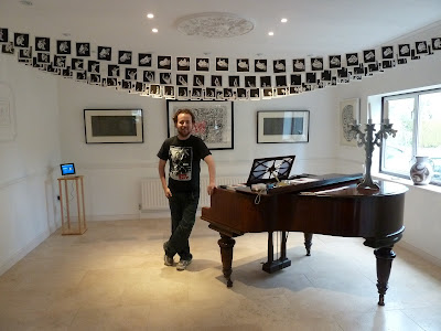 Linocut exhibition with Mark Andrew Webber
