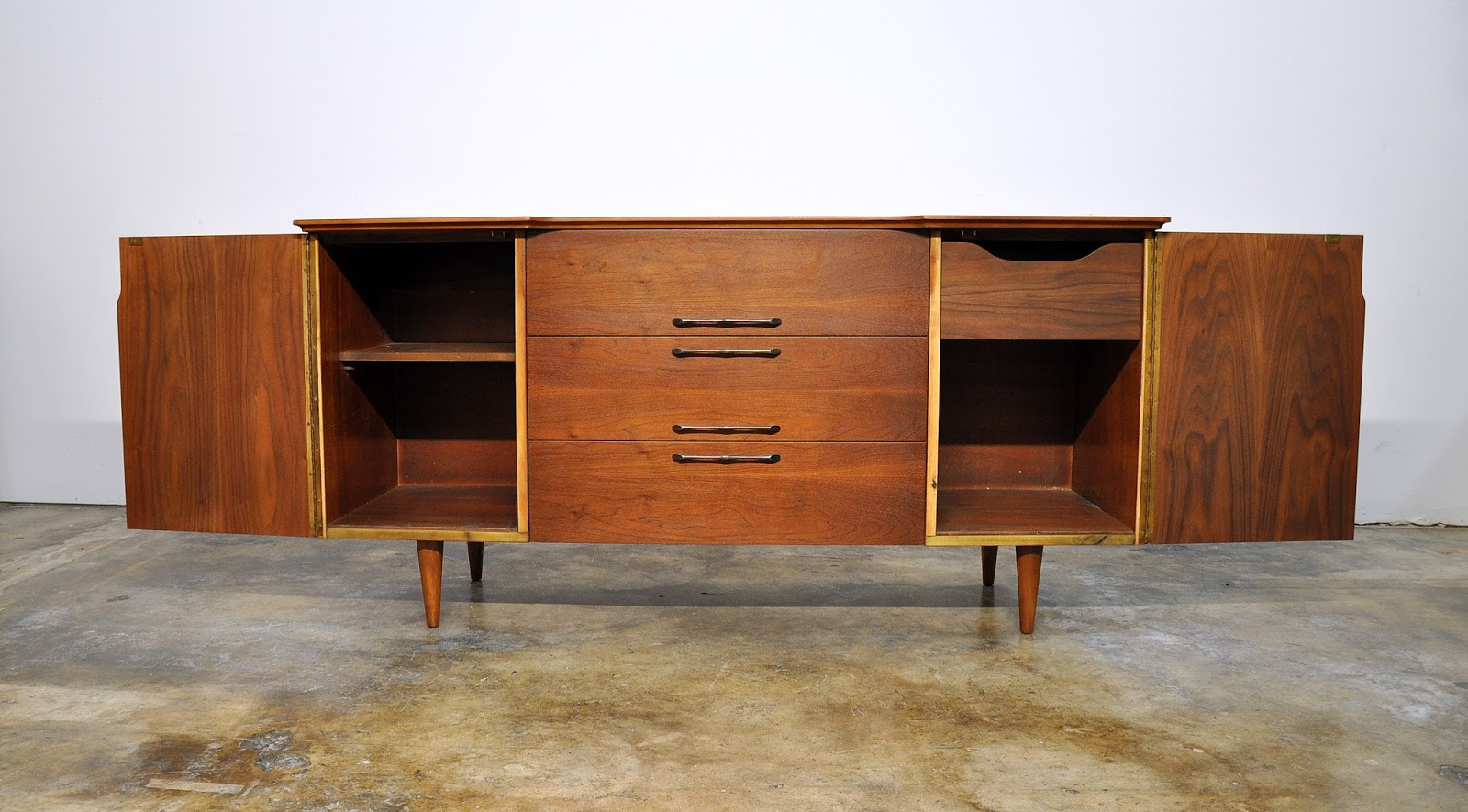 SELECT MODERN: United Furniture Credenza, Bar, Media