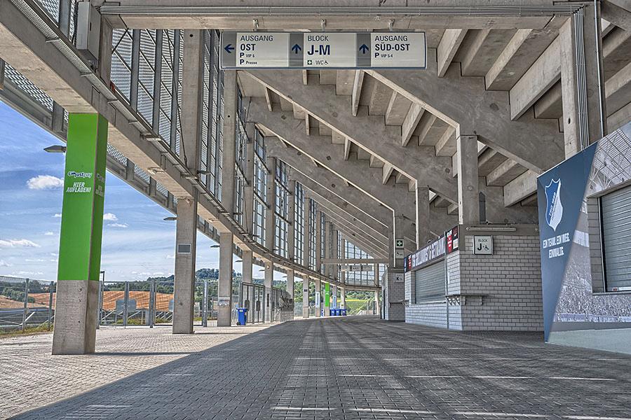 rhein necker arena hoffenheim dettagli