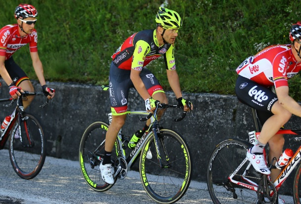 Eugert Zhupa - the Albanian on Giro d'Italia