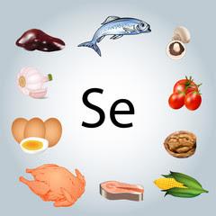 Food rich in Selenium
