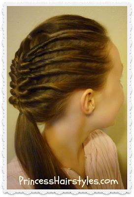 Twist cornrows and window braid tutorial