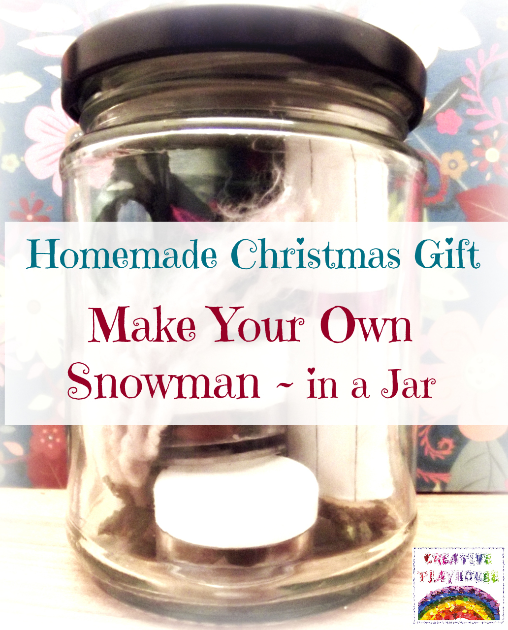 make your own snowman gift