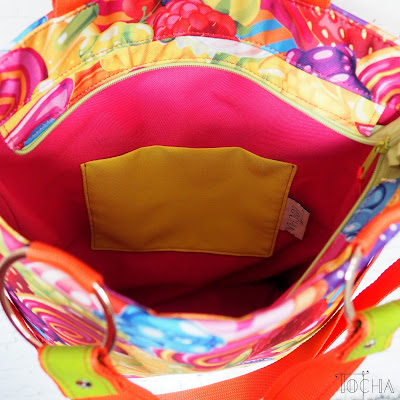 Candy Shop, Mamidu, handbag, cross-body bag, candies, sweets, fruits, cute, gummi bears, lollipop, dresowka.pl, washpapa, kraft tex, craft paper,