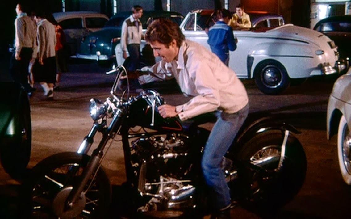 the motorcycles the Fonz had on Happy Days... started with a Harley 9f4692cbd