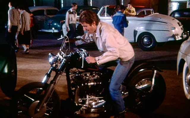 Used Harley Davidson Motorcycles >> the motorcycles the Fonz had on Happy Days... started with a Harley, then switched to a Triumph ...
